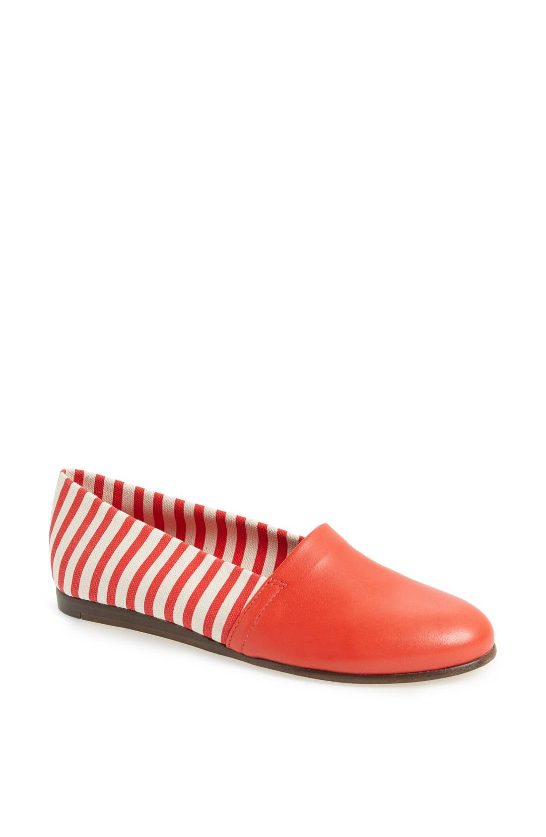 Alternate Image 1 Selected - CB Made in Italy Stripe Flat Slip-On