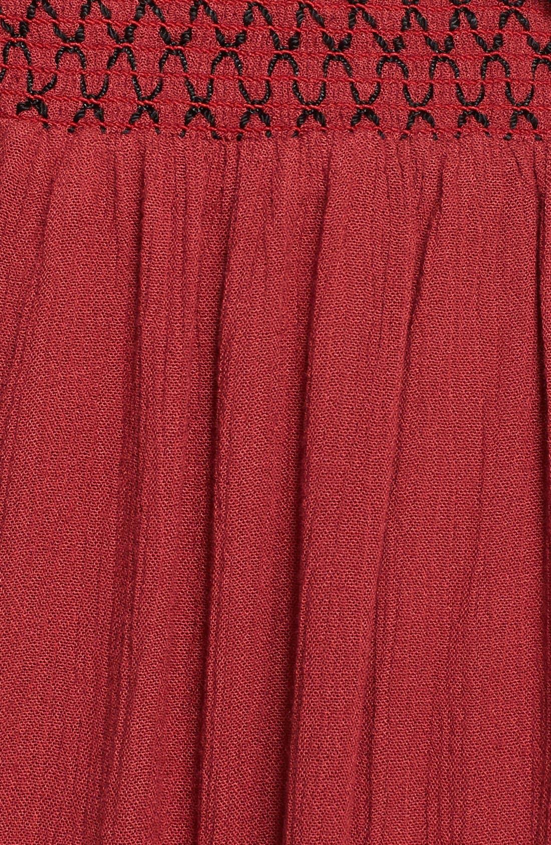 Alternate Image 3  - Free People 'Leighanna' Smocked Side Woven Pants