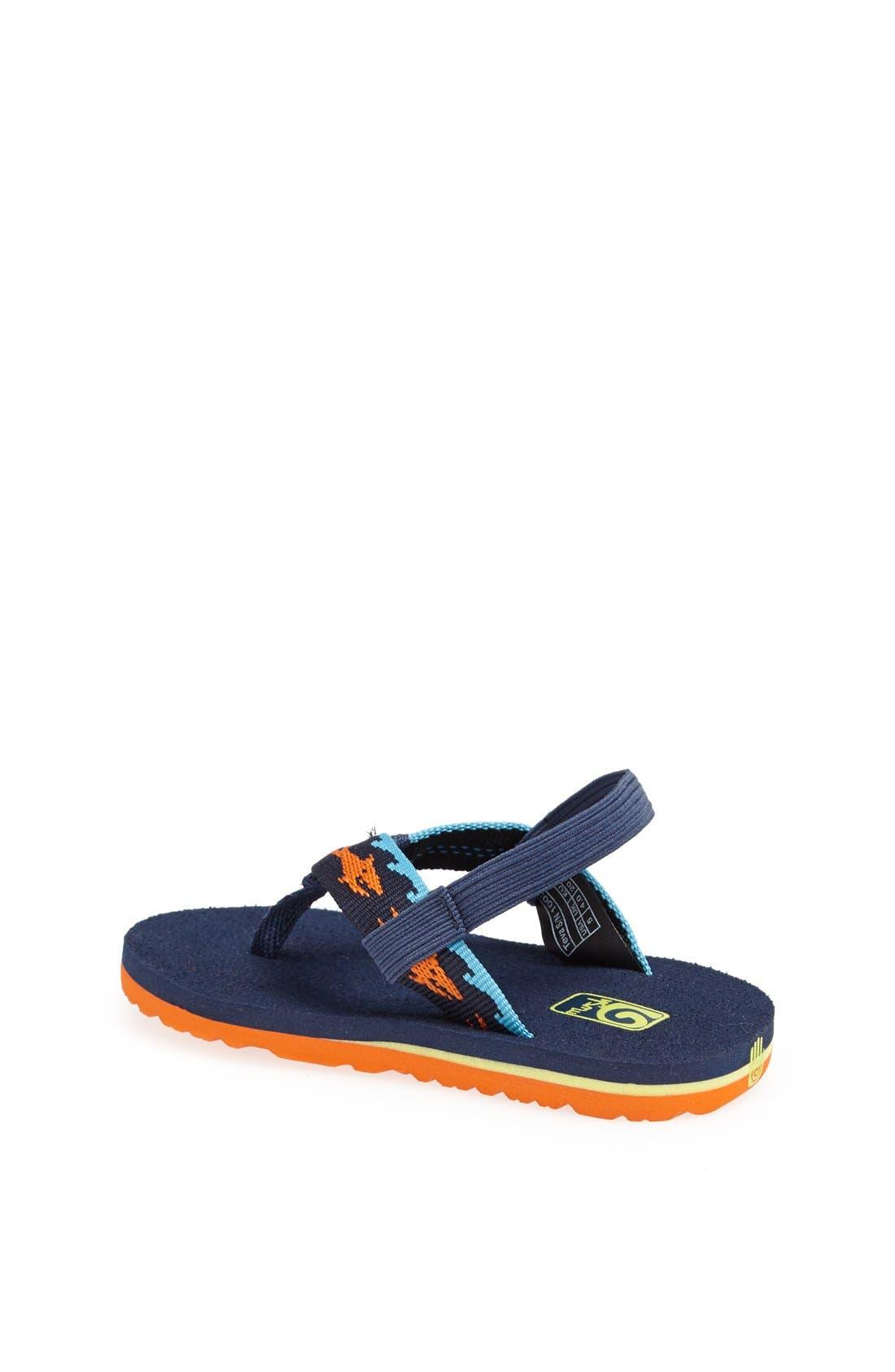 Alternate Image 2  - Teva 'Mush' Sandal (Baby & Walker)