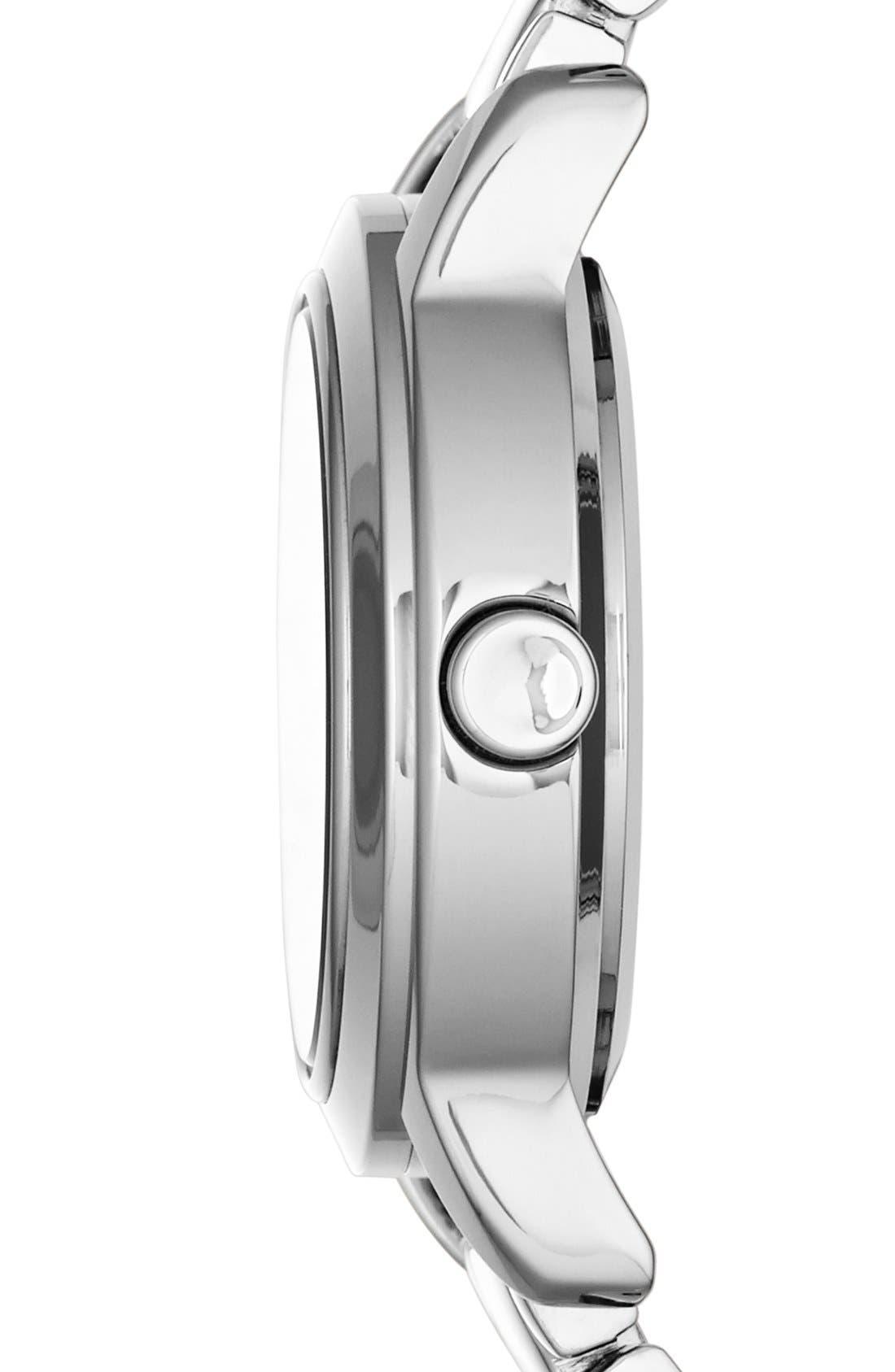 Alternate Image 3  - DKNY 'Tompkins' Mirror Finish Bracelet Watch