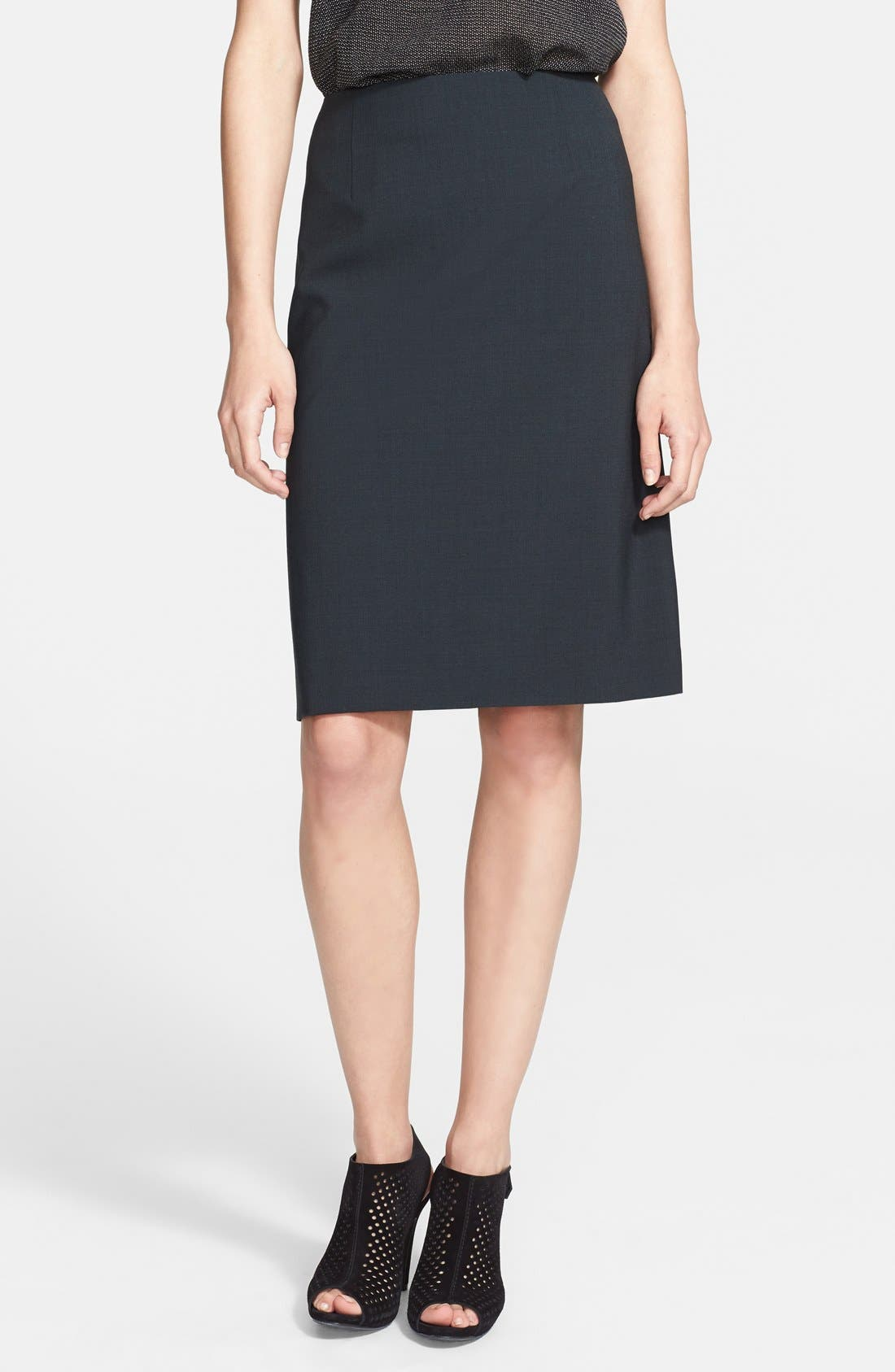 Main Image - Theory 'Golda 2' Pencil Skirt