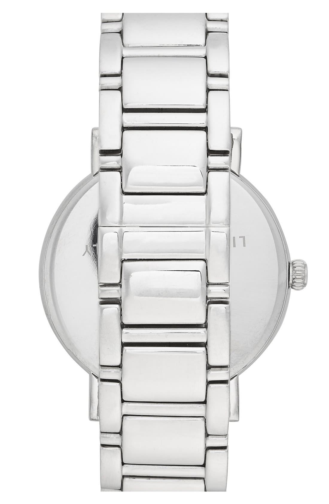 Alternate Image 2  - kate spade new york 'gramercy grand' round bracelet watch, 38mm