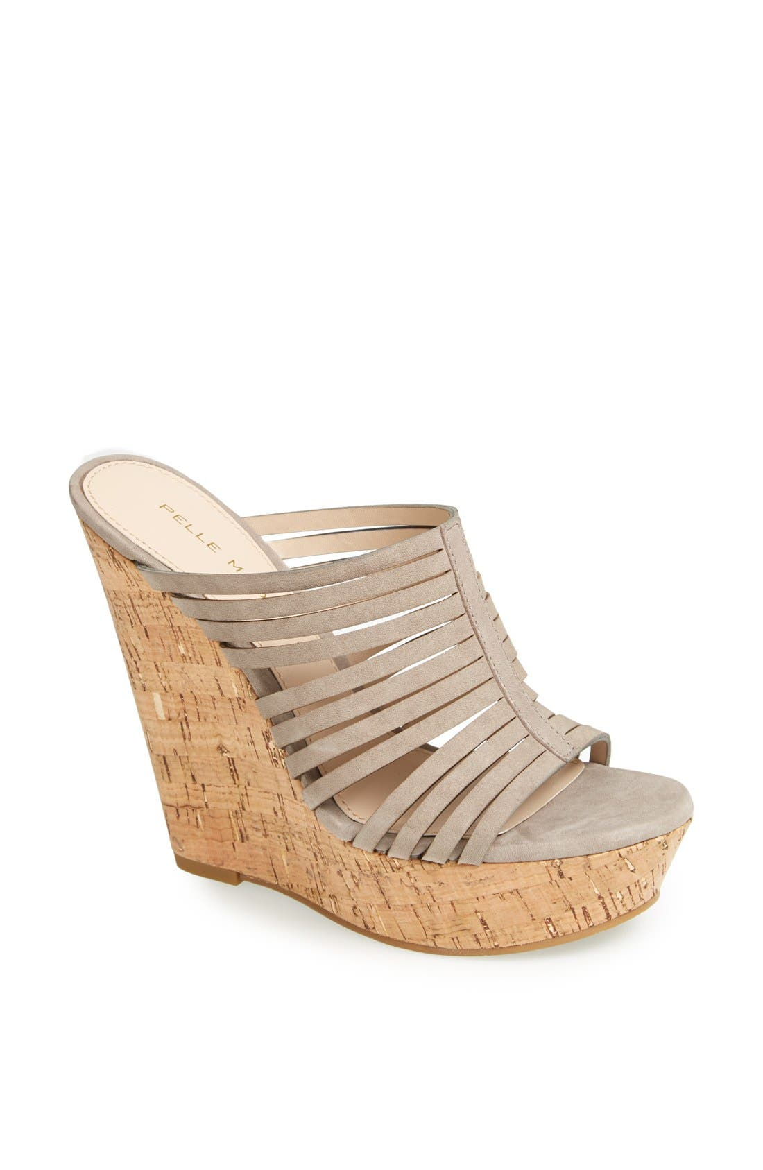Alternate Image 1 Selected - Pelle Moda 'Leroy' Wedge Sandal