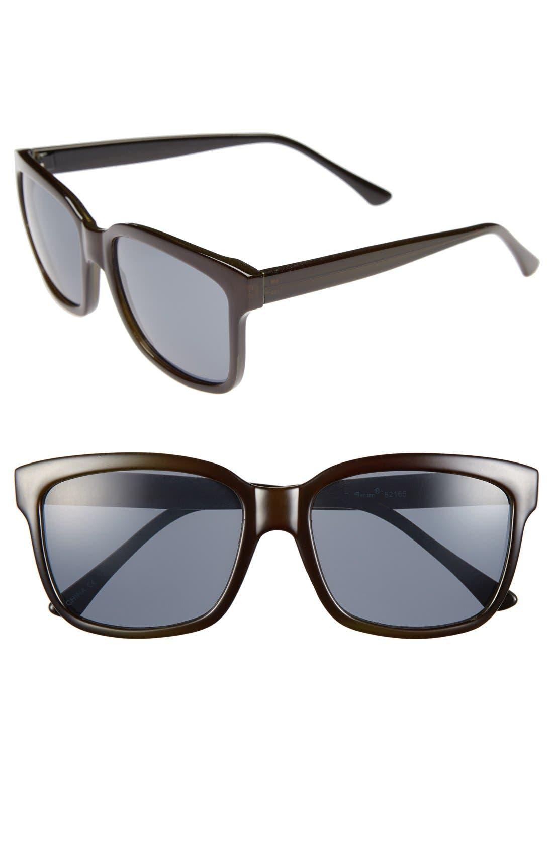 Alternate Image 1 Selected - A.J. Morgan 'Beechers' 55mm Sunglasses
