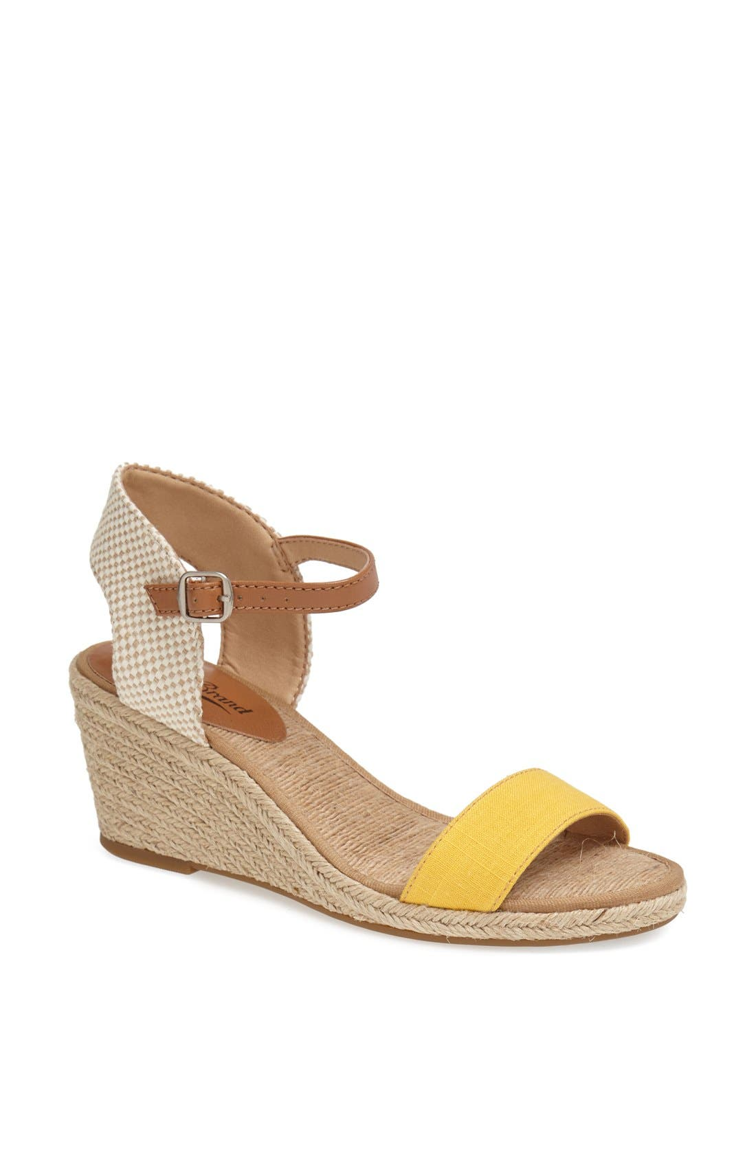 Alternate Image 1 Selected - Lucky Brand 'Kavelli' Espadrille Wedge