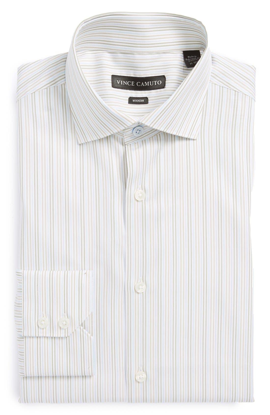 Alternate Image 1 Selected - Vince Camuto Modern Fit Stripe Dress Shirt