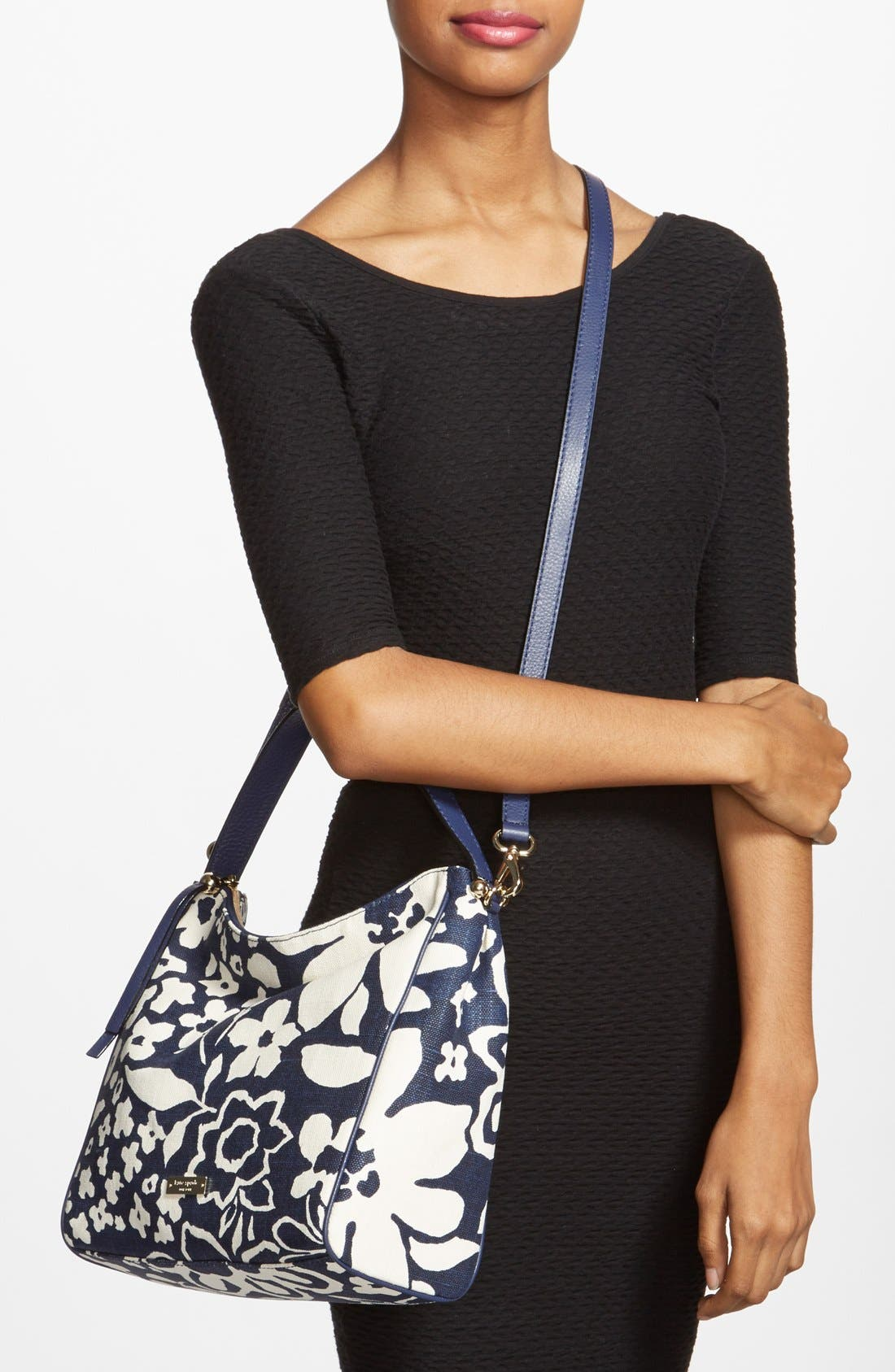 Alternate Image 2  - kate spade new york 'small haven' canvas hobo