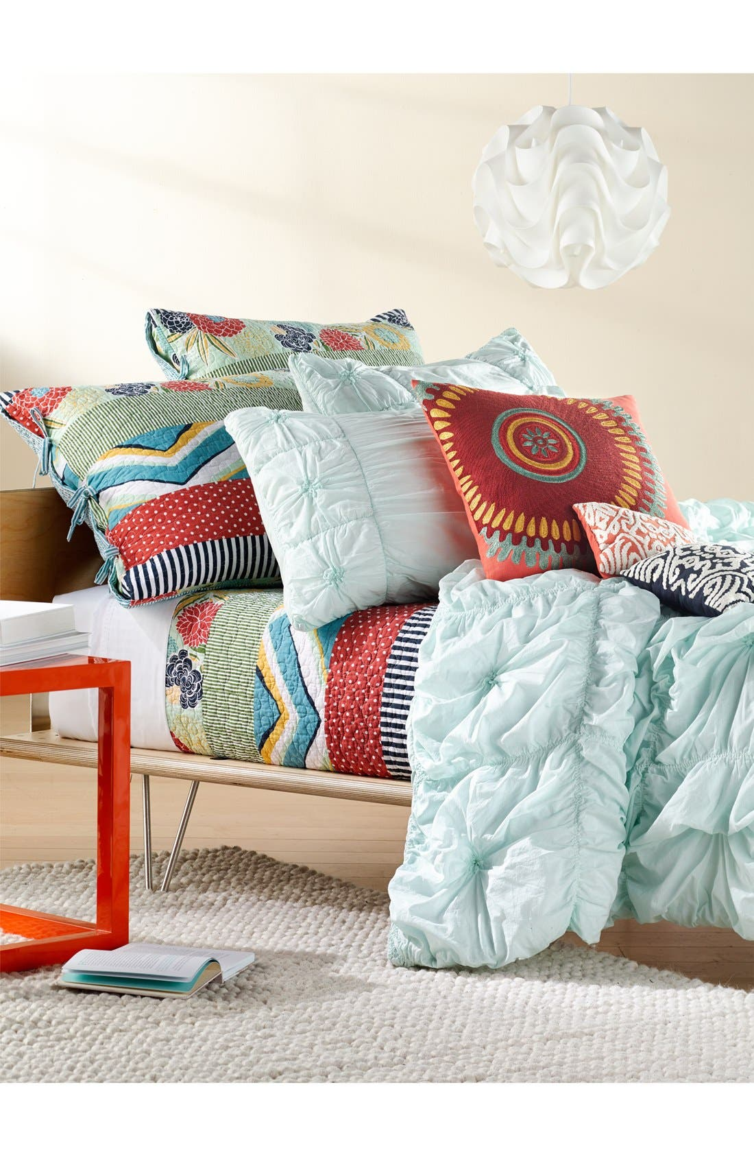 Alternate Image 3  - Rizzy Home Ruched Knots Comforter (Nordstrom Exclusive)