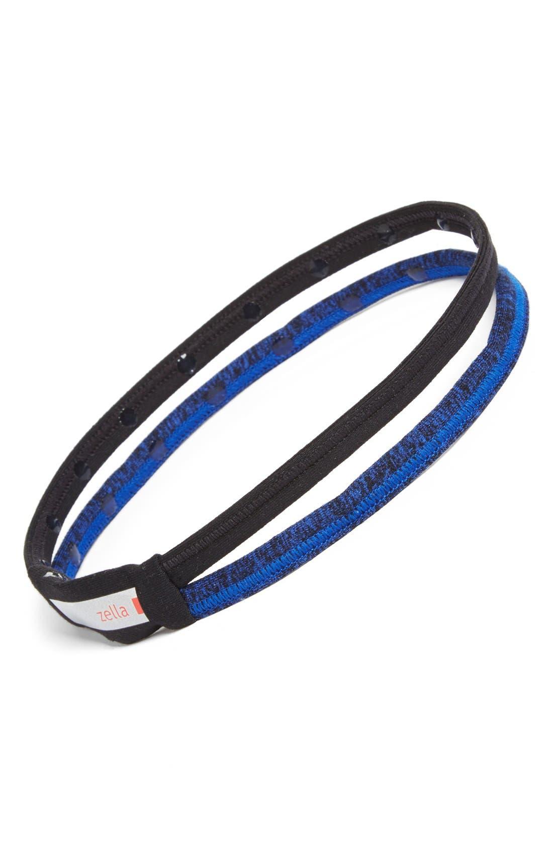 Main Image - Zella 'Double the Fun' Colorblock Headband