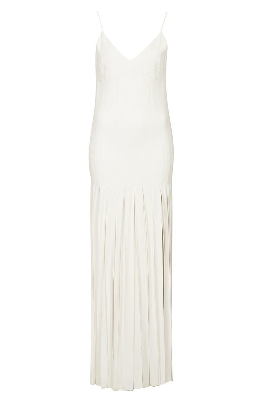 Alternate Image 4  - Kate Moss for Topshop Splice Skirt Maxi Dress (Online Only)