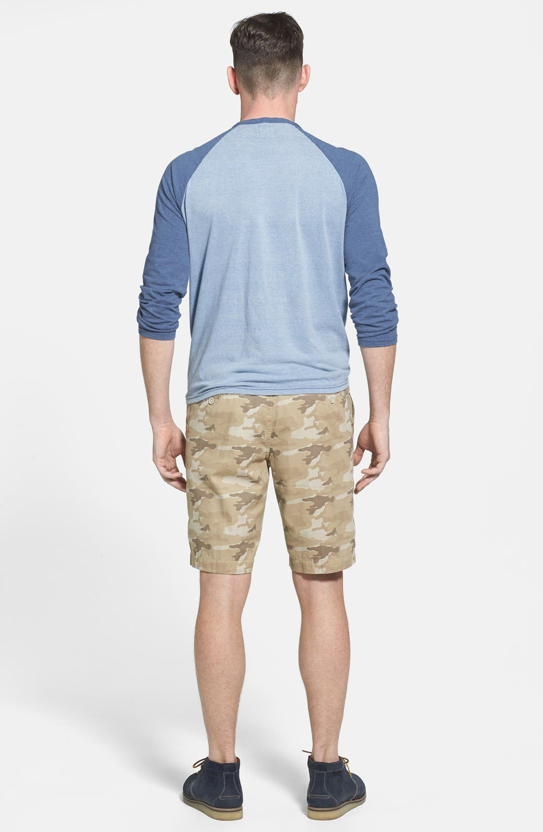 Alternate Image 5  - Faherty Raglan Sleeve Baseball T-Shirt