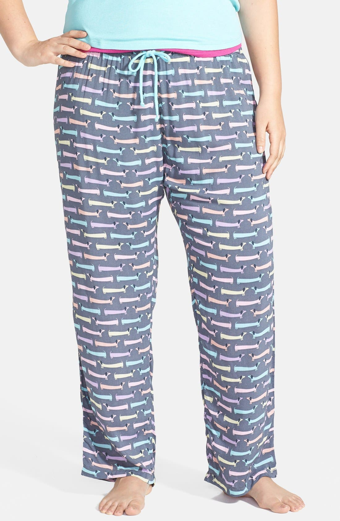 Main Image - PJ Salvage 'Challe Chic' Pants (Plus Size) (Nordstrom Online Exclusive)
