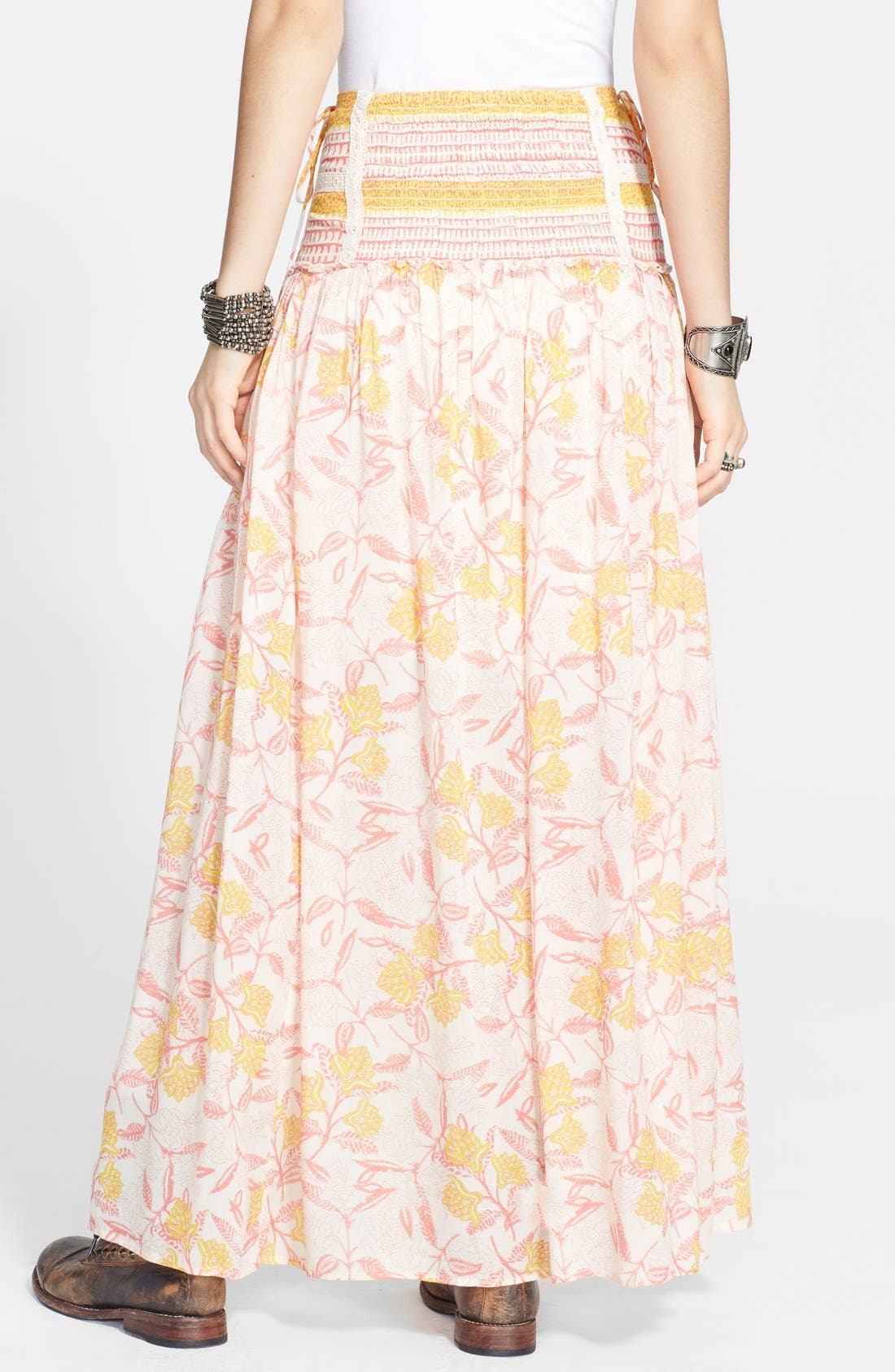 Alternate Image 2  - Free People 'Squared Off' Front Slit Maxi Skirt