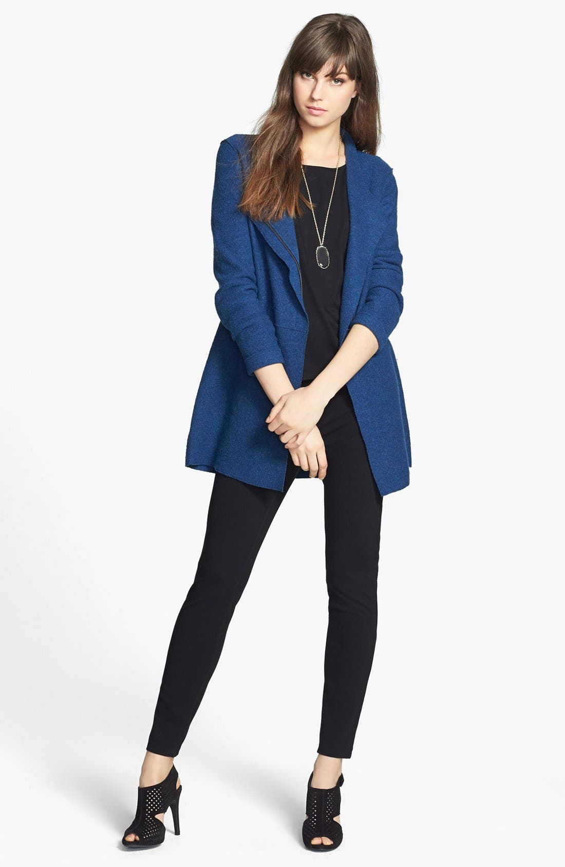 Alternate Image 1 Selected - Eileen Fisher Stretch Knit Leggings
