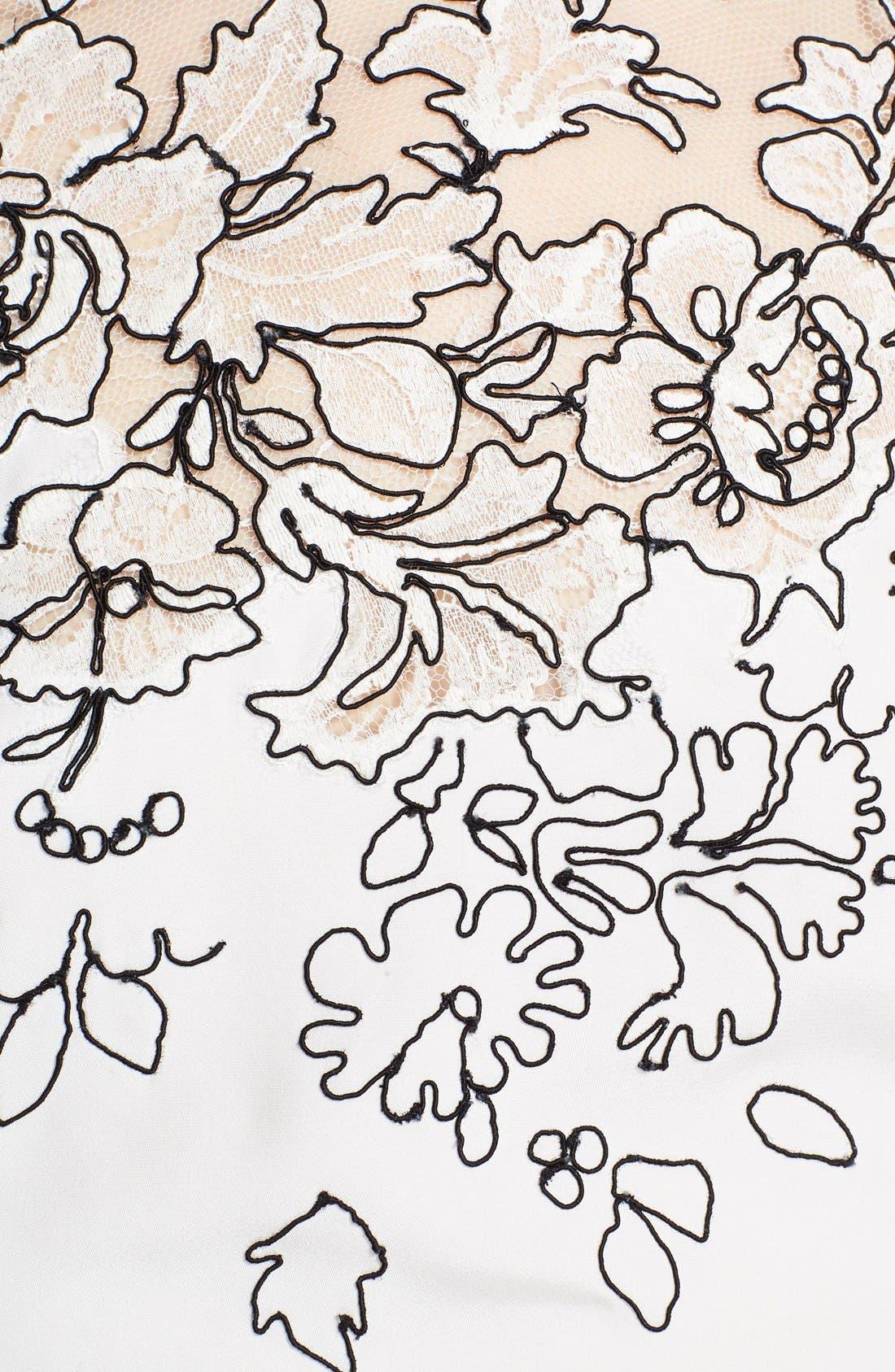 Alternate Image 4  - Oscar de la Renta Embroidered Silk Blouse