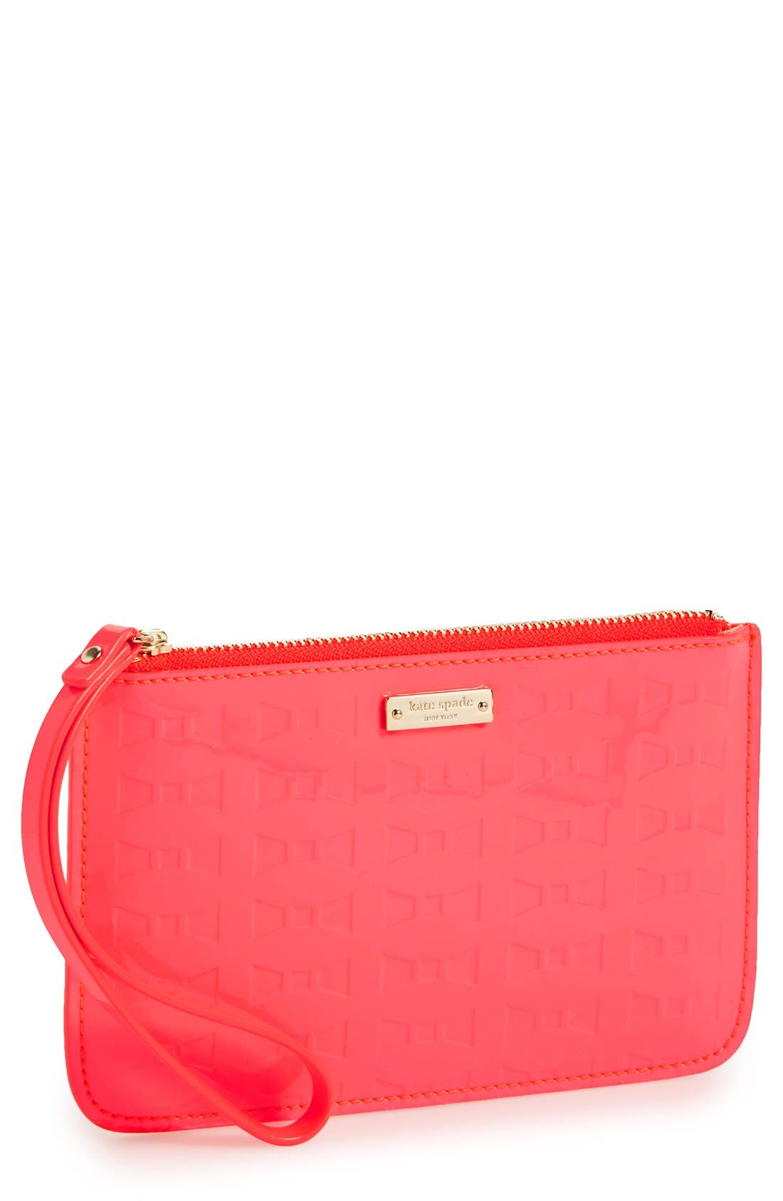 Main Image - kate spade new york 'fancy that - bee' wristlet
