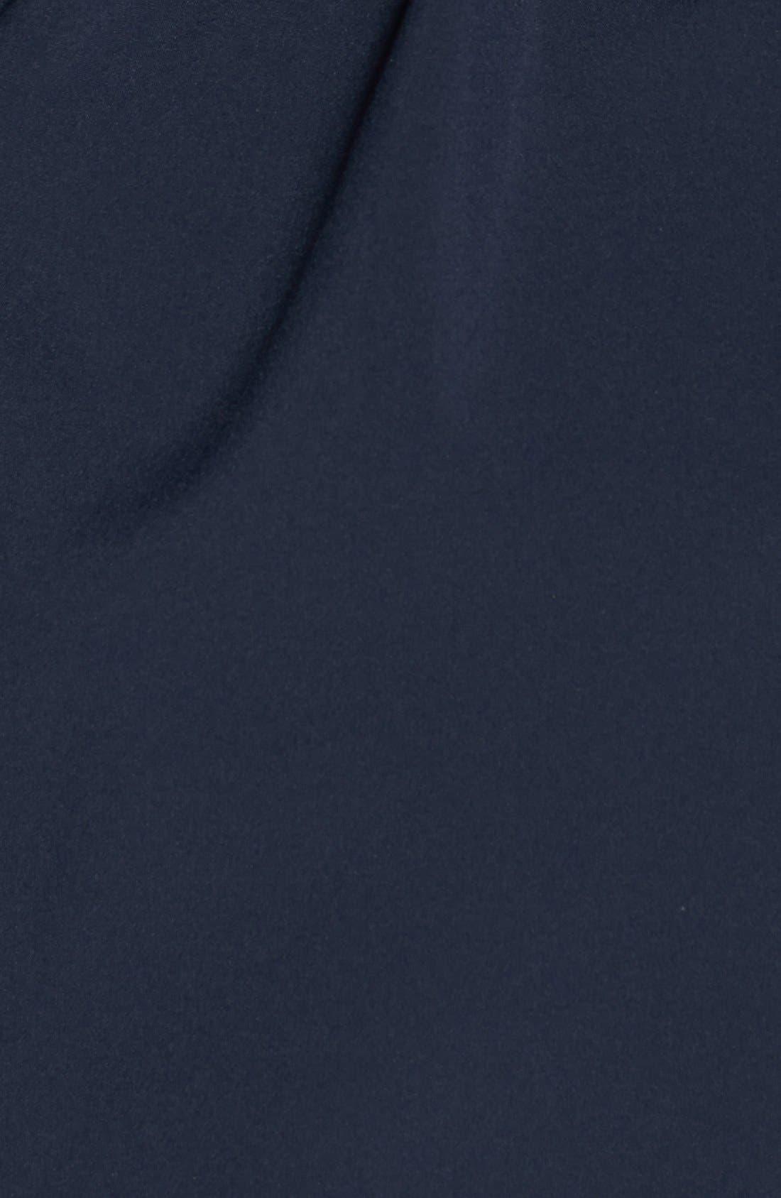 Alternate Image 4  - Betsey Johnson Tulip Hem Soft Shell Jacket