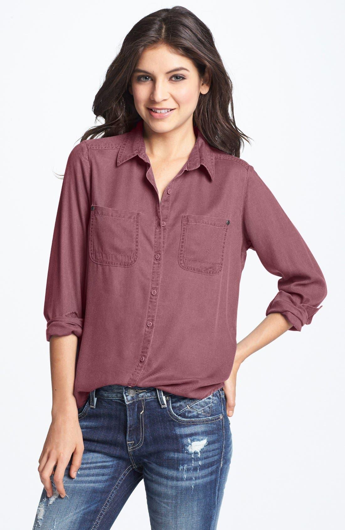 Main Image - BP. Workwear Shirt (Juniors)