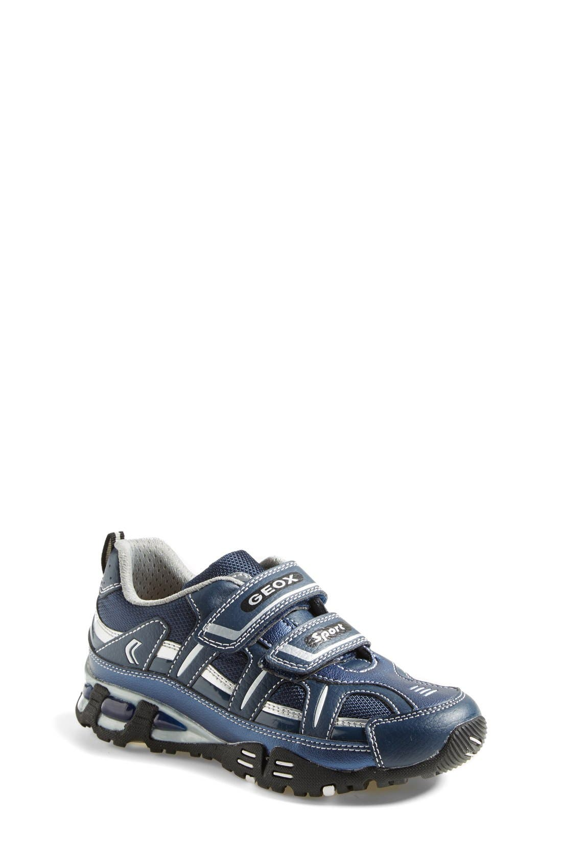Alternate Image 1 Selected - Geox 'Light Eclipse 18' Sneaker (Toddler, Little Kid & Big Kid)