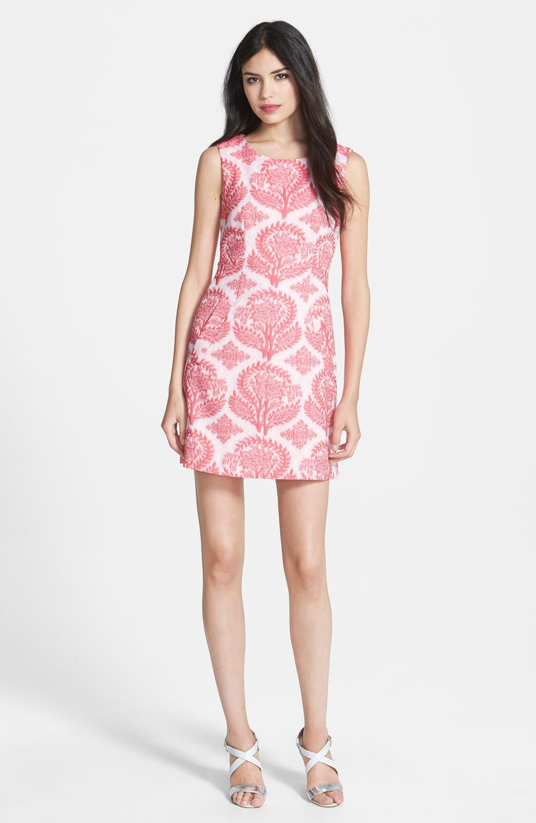 Alternate Image 1 Selected - Diane von Furstenberg 'Capreena' Brocade Sheath Dress