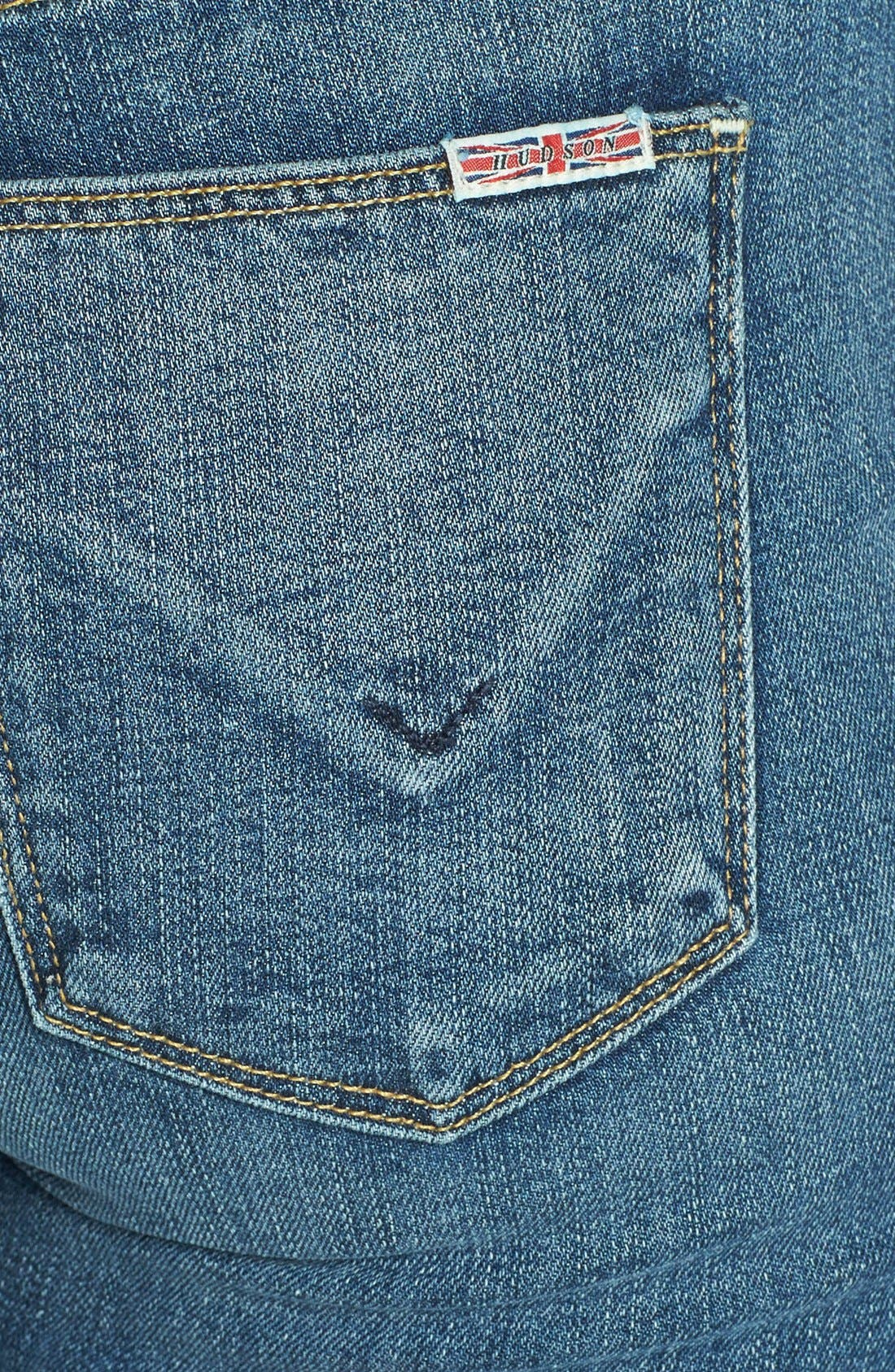 Alternate Image 3  - Hudson Jeans 'Elle' Baby Bootcut Jeans (Hackney)