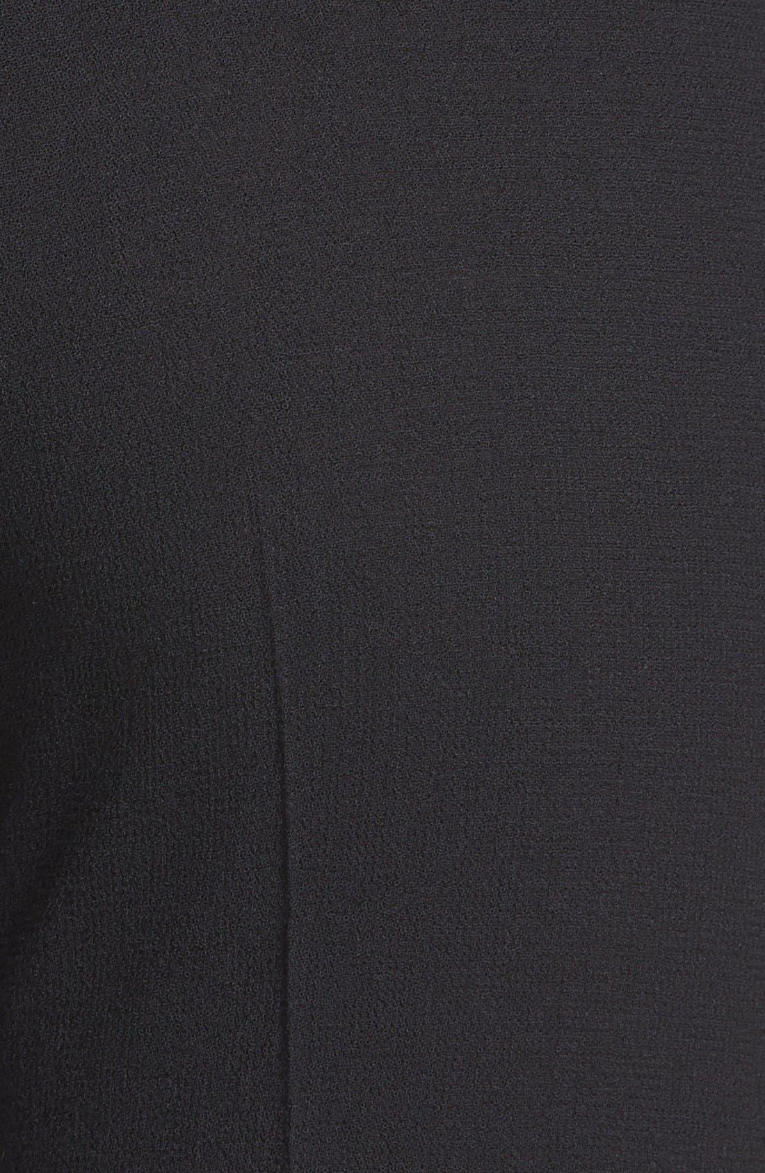 Alternate Image 3  - Santorelli Slim Wool Crepe Ankle Pants