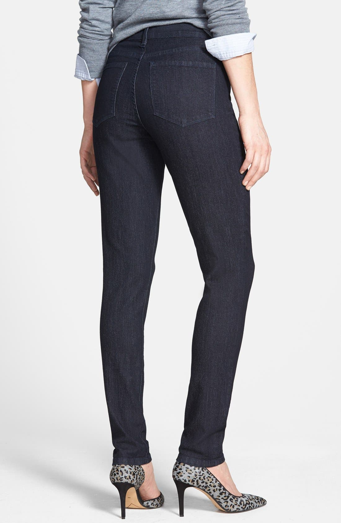 Alternate Image 2  - NYDJ 'Ami' Stretch Super Skinny Jeans (Irving) (Online Only)