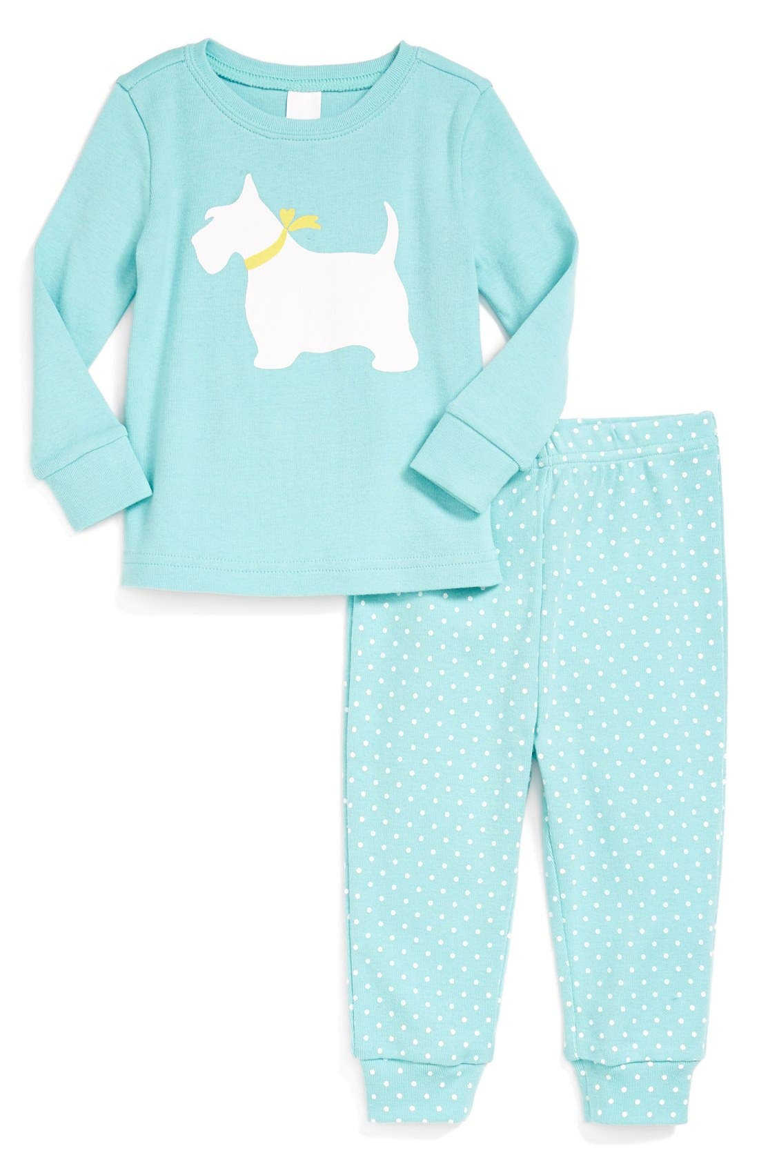 Alternate Image 1 Selected - Tucker + Tate Fitted Two-Piece Pajamas (Baby Girls)