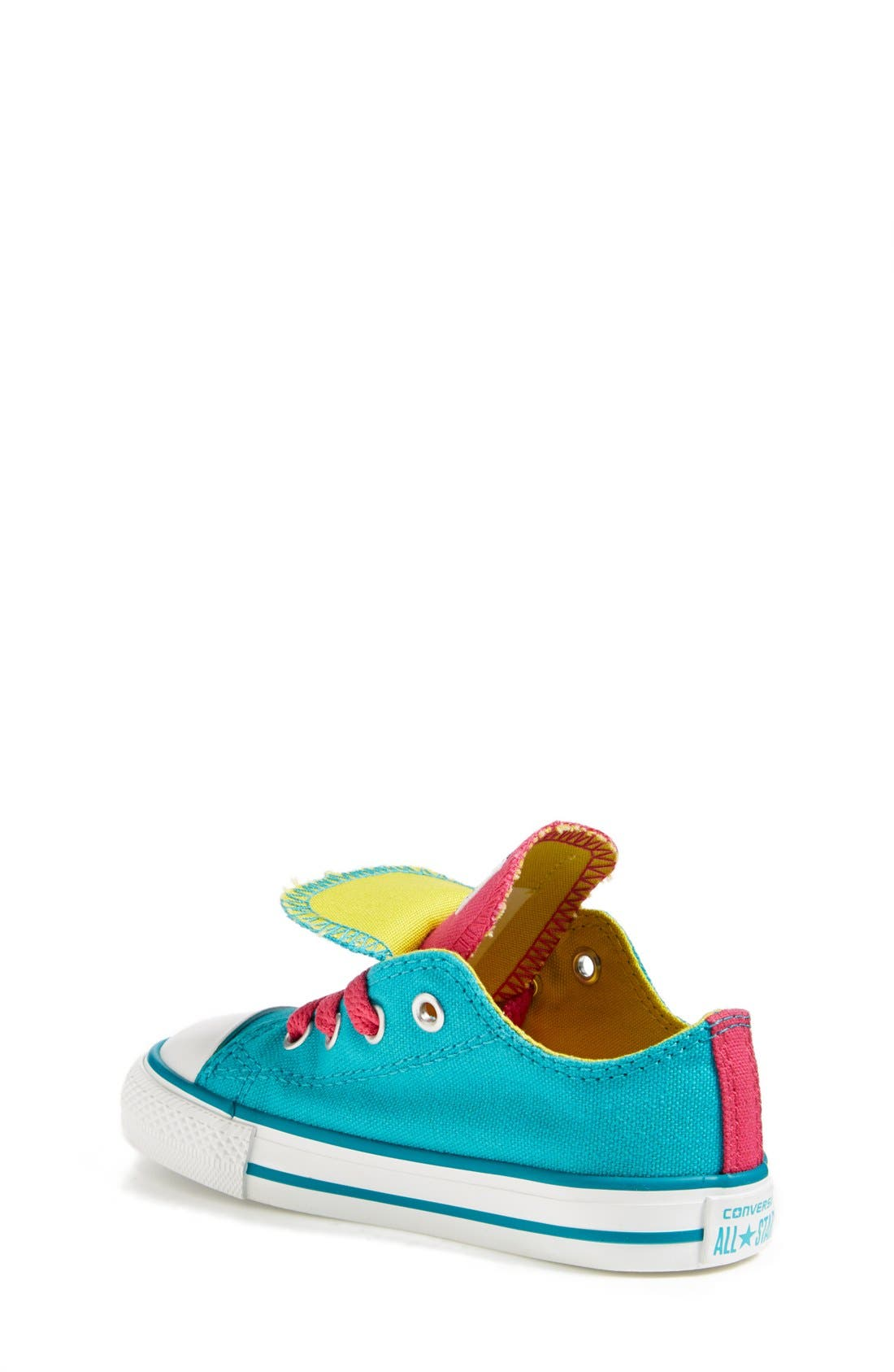 Alternate Image 2  - Converse Chuck Taylor® All Star® 'Double Tongue' Sneaker (Baby, Walker, Toddler, Little Kid & Big Kid)