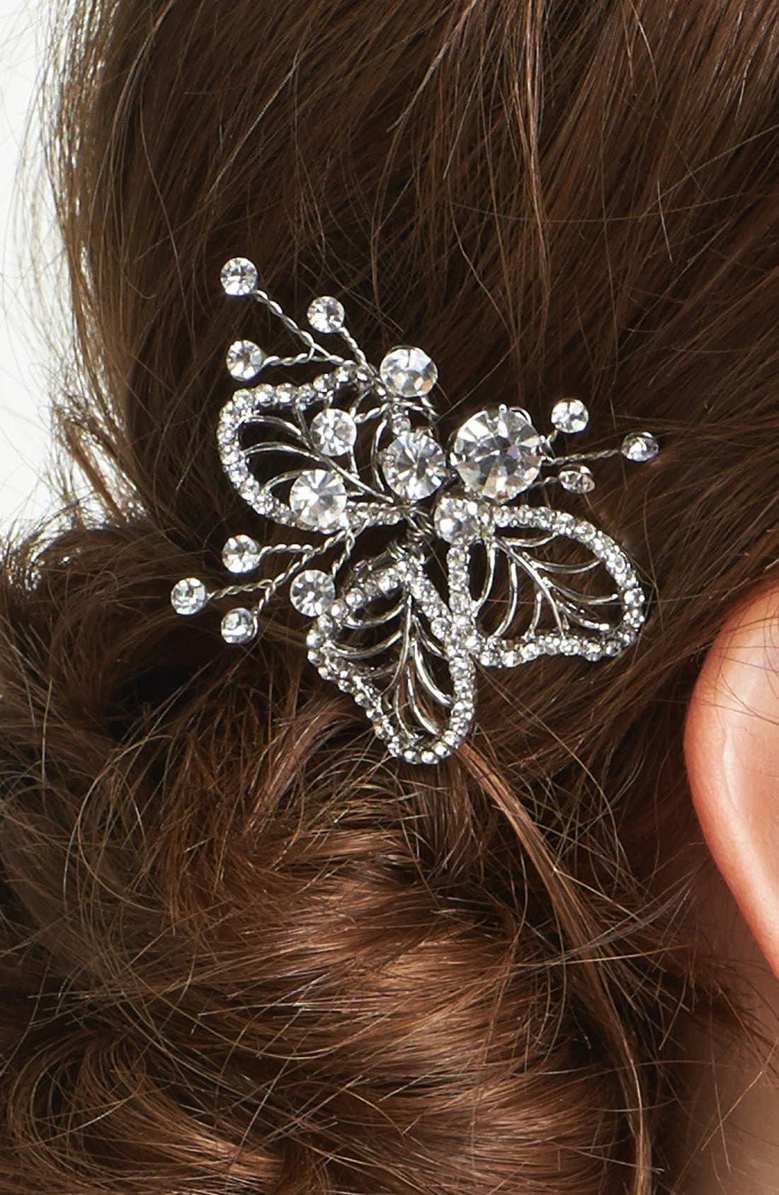 Alternate Image 2  - Wedding Belles New York 'Cosette' Hairpin