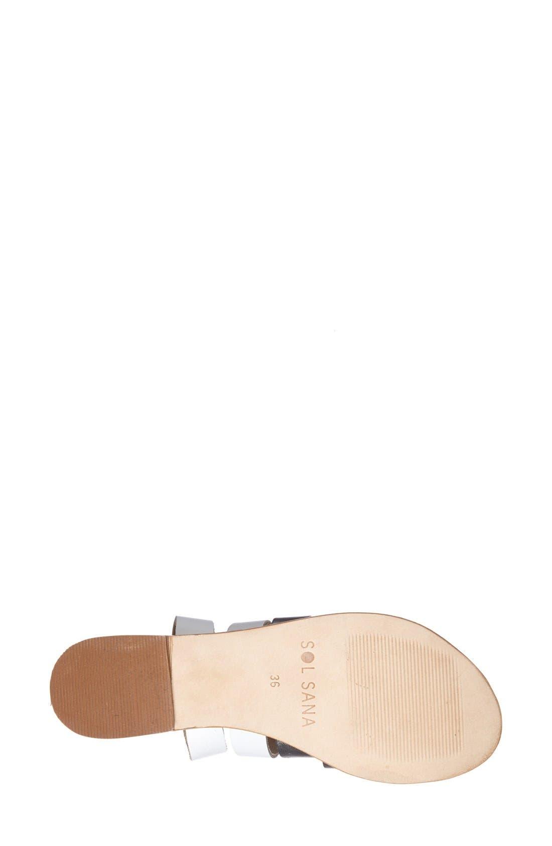 Alternate Image 4  - Sol Sana 'Ayden' Sandal (Women)