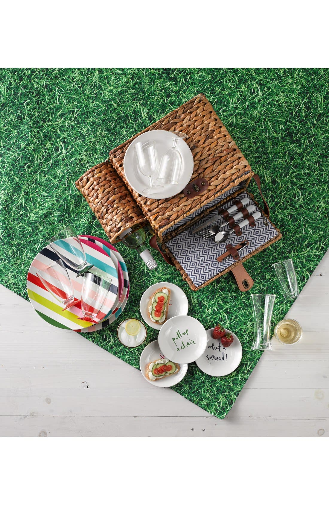 Alternate Image 3  - kate spade new york picnic blanket