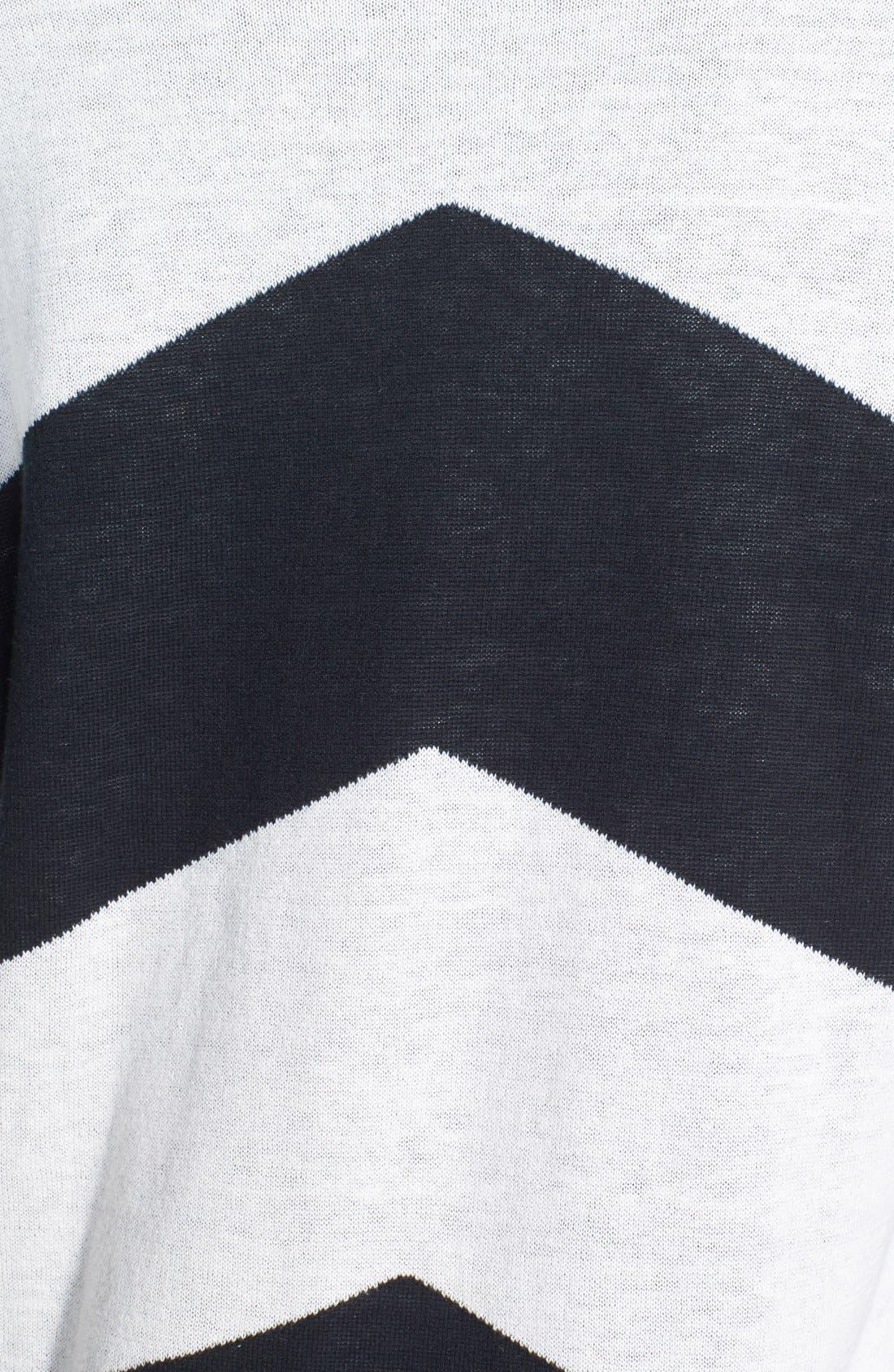 Alternate Image 4  - Volcom 'Twisted' Chevron Sweater Dress