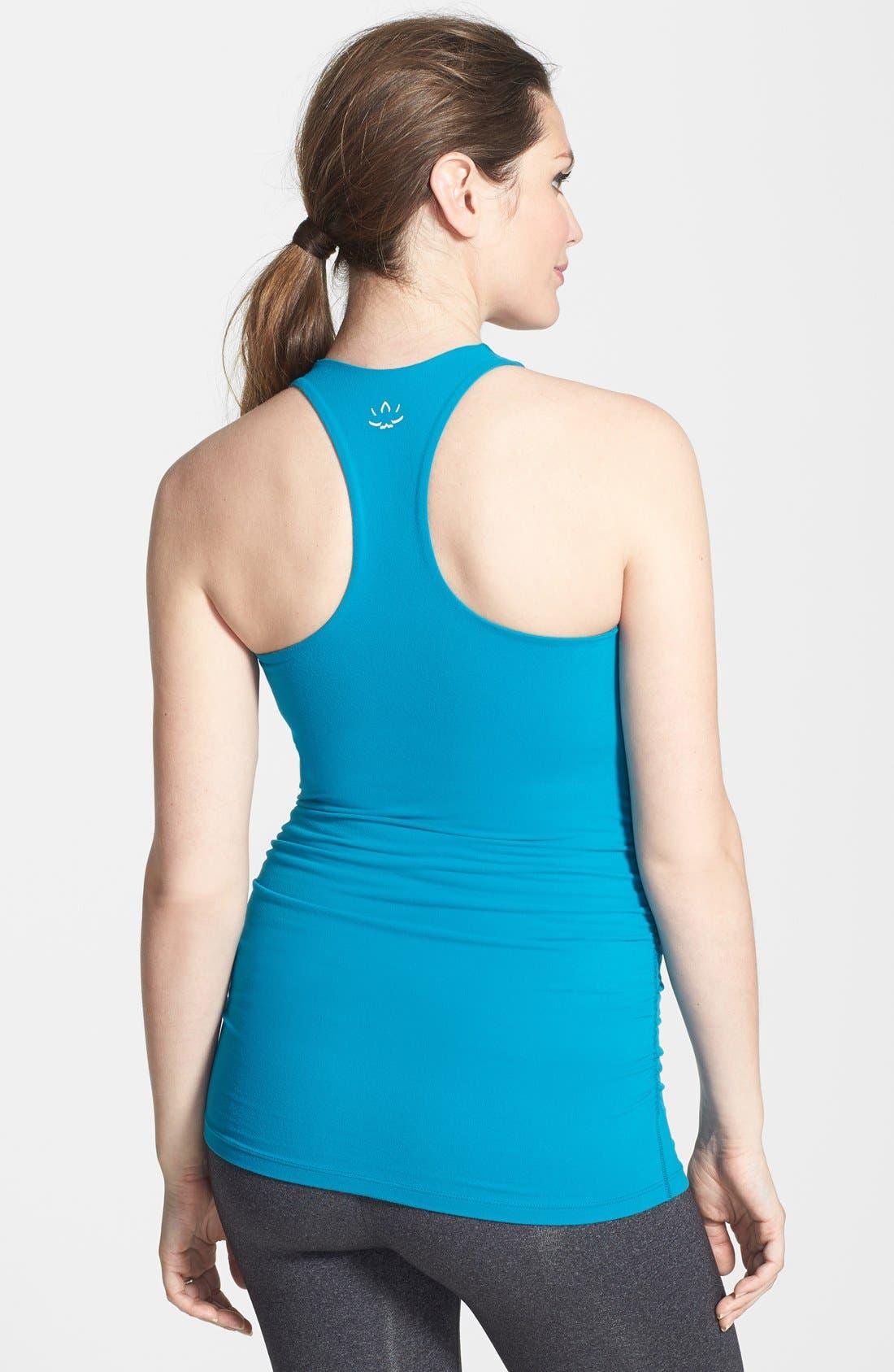 Alternate Image 2  - Beyond Yoga Long Racerback Maternity Camisole