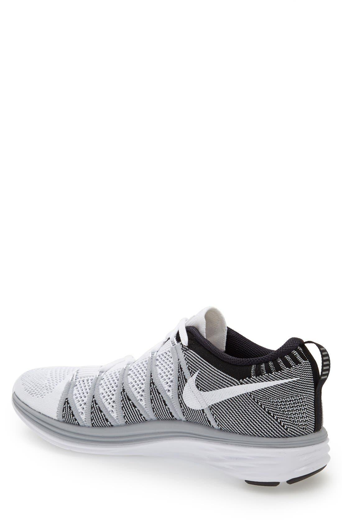 Alternate Image 2  - Nike 'Flyknit Lunar2' Running Shoe (Men)