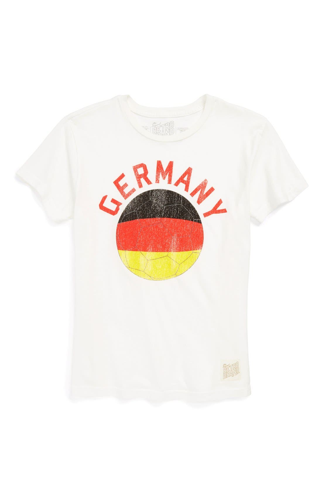 Main Image - Retro Brand 'Germany Soccer' Screenprint T-Shirt (Big Boys)