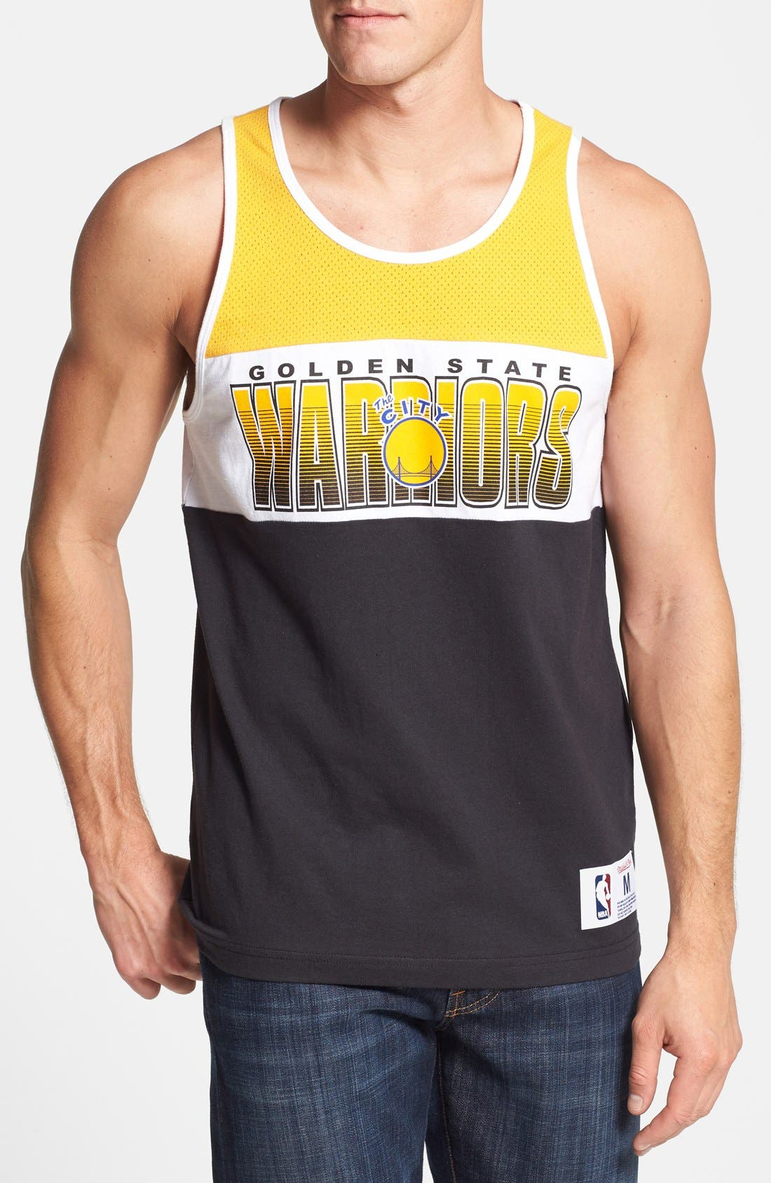Main Image - Mitchell & Ness 'Golden State Warriors - Home Stand' Tank Top