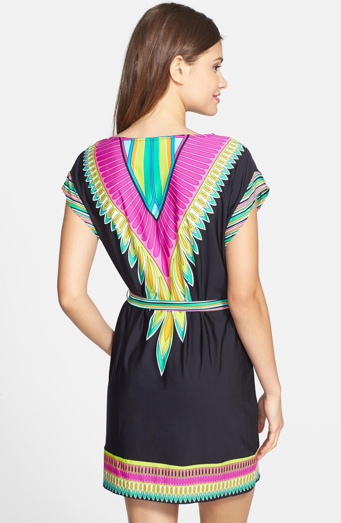 Alternate Image 2  - Trina Turk 'Plumas' Cover-Up Dress