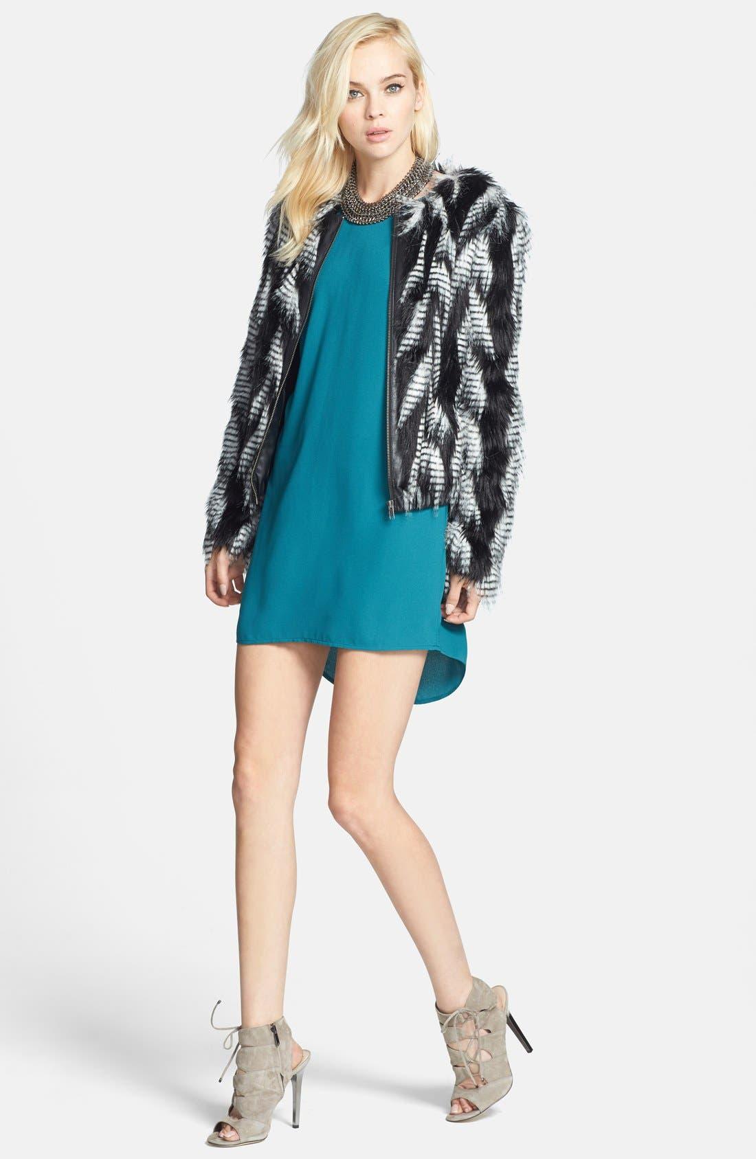 Alternate Image 4  - Leith Faux Fur Jacket