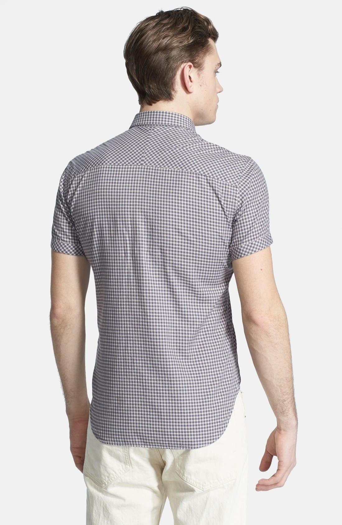 Alternate Image 3  - Billy Reid 'Courtland' Check Short Sleeve Shirt
