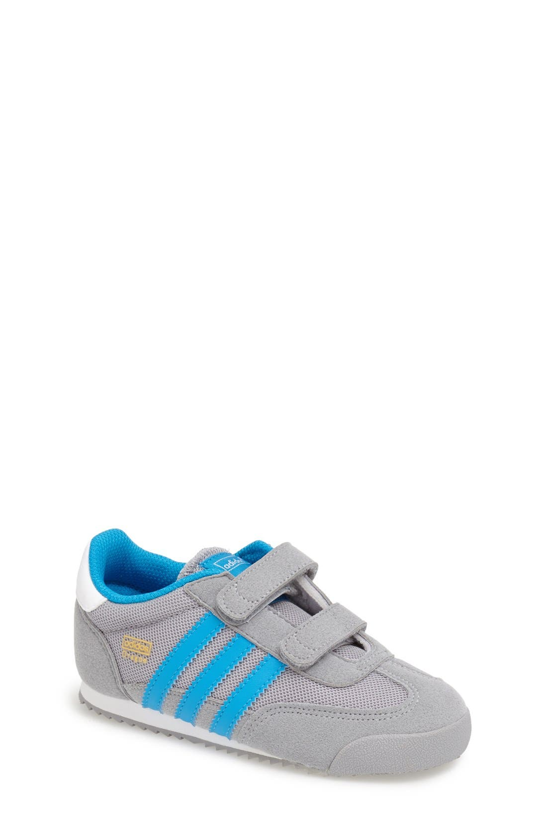 Alternate Image 1 Selected - adidas 'Dragon' Sneaker (Baby, Walker & Toddler)