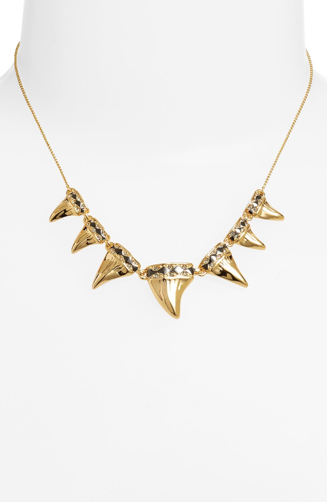 Main Image - House of Harlow 1960 'Shark Tooth' Frontal Necklace