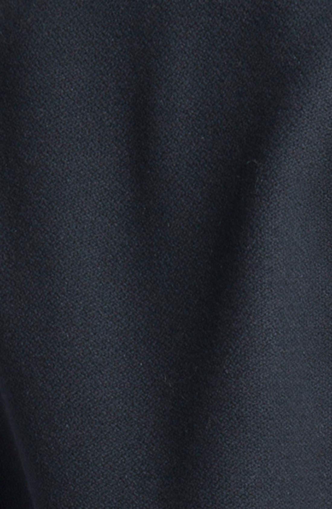 Alternate Image 4  - Saint Laurent 'Teddy' Leather Trim Bomber Jacket