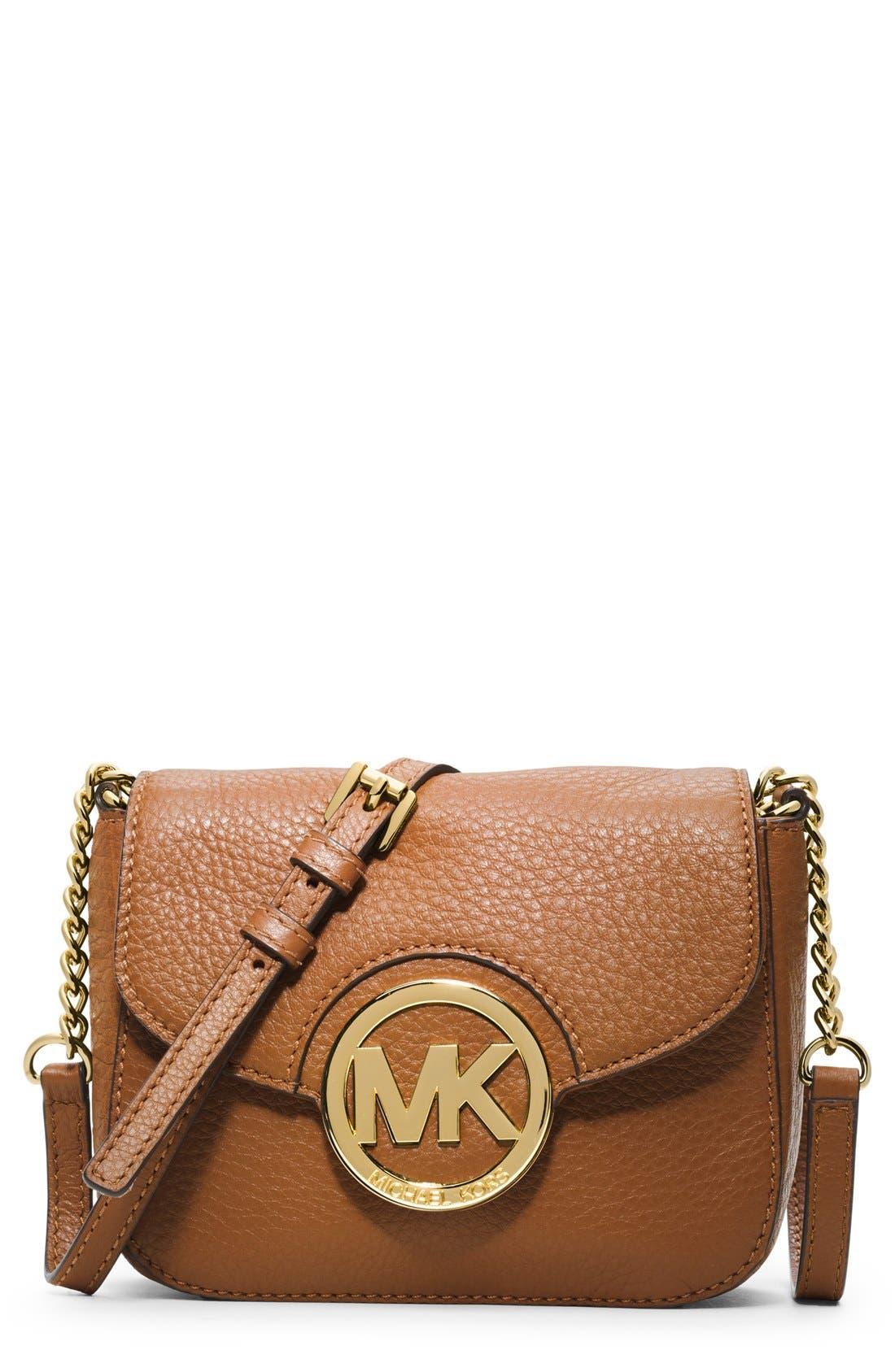 Alternate Image 1 Selected - MICHAEL Michael Kors 'Small Fulton' Crossbody Bag