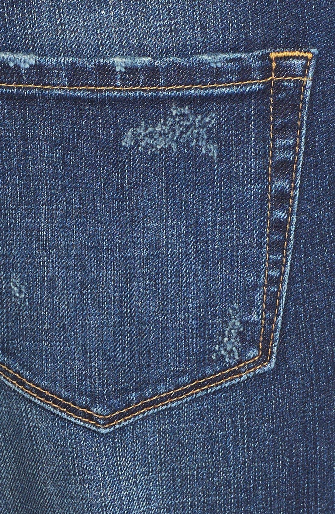 Alternate Image 3  - Treasure&Bond Boyfriend Jeans (Medium Wash)