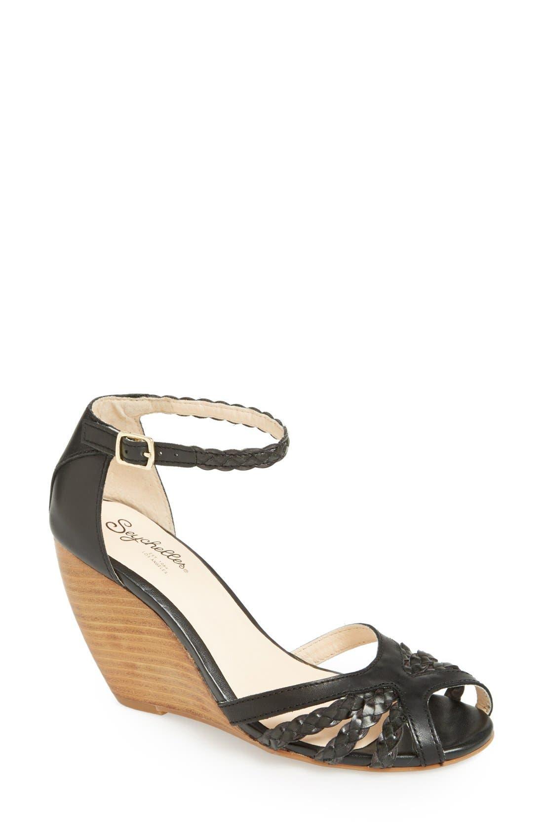 Alternate Image 1 Selected - Seychelles 'Like a Lady' Wedge Sandal (Women)