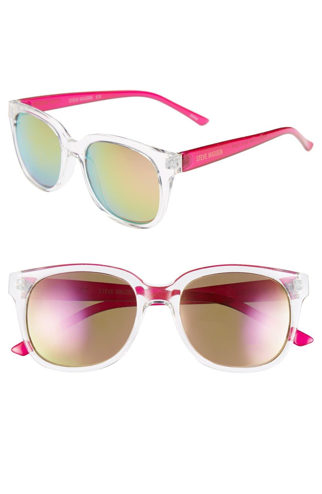 Alternate Image 1 Selected - Steve Madden 52mm Retro Sunglasses