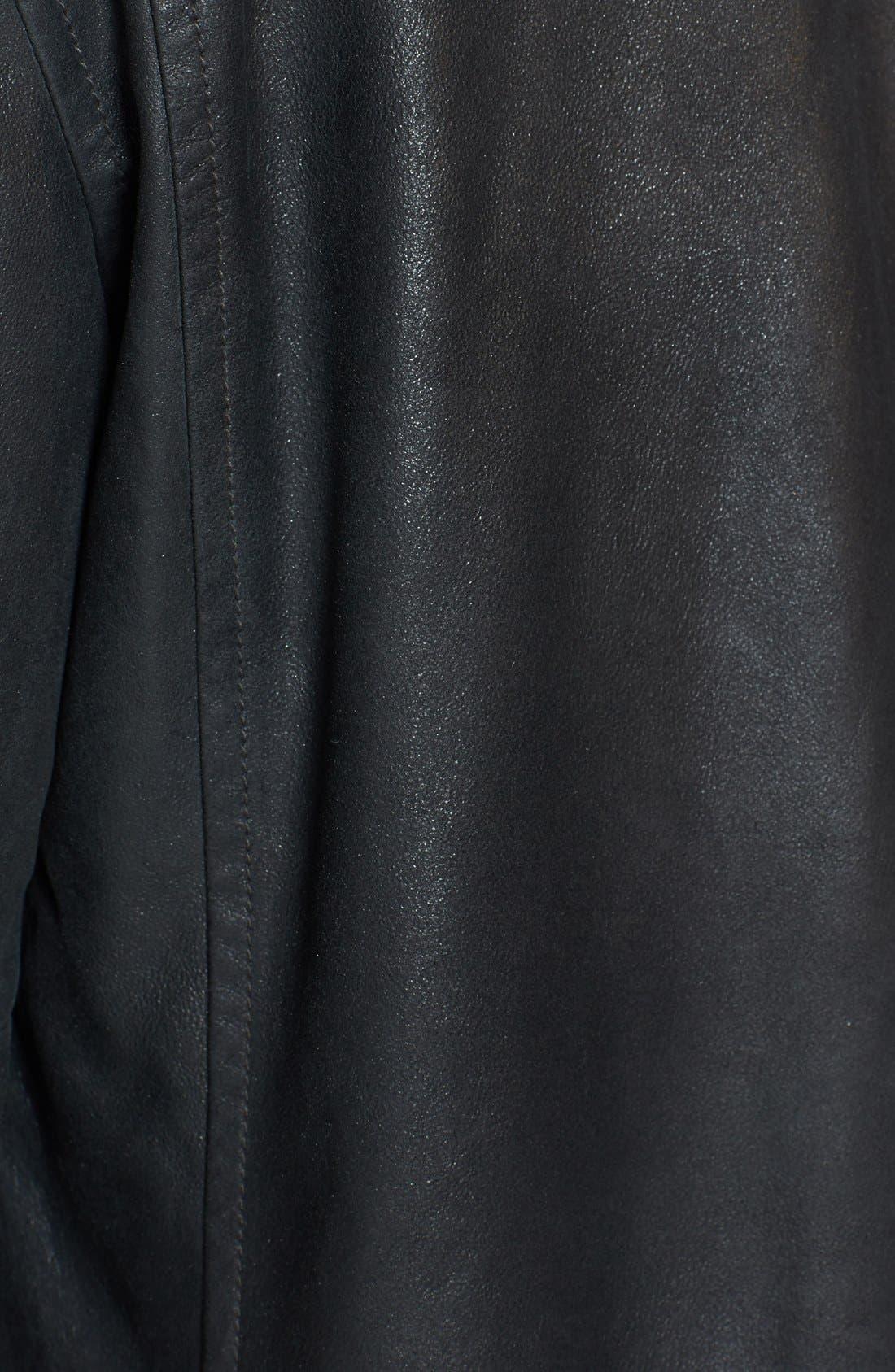 Alternate Image 3  - John Varvatos Star USA Slim Fit Leather Shirt Jacket