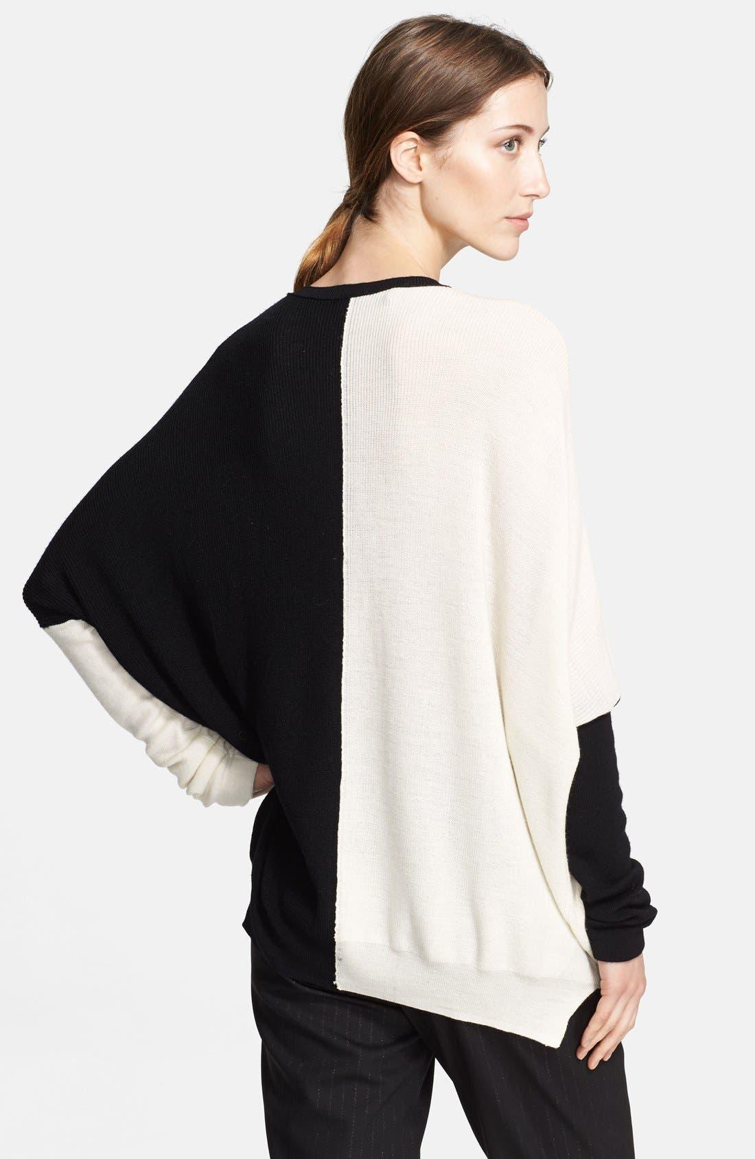 Alternate Image 2  - Yigal Azrouël Colorblock Sweater