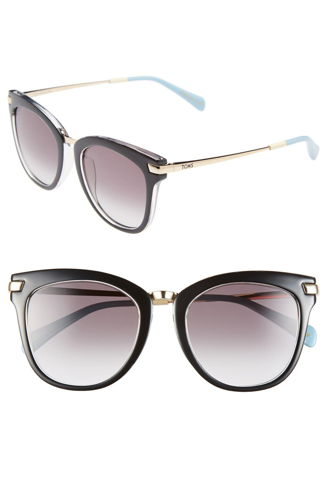 Main Image - TOMS 'Adeline' 51mm Sunglasses